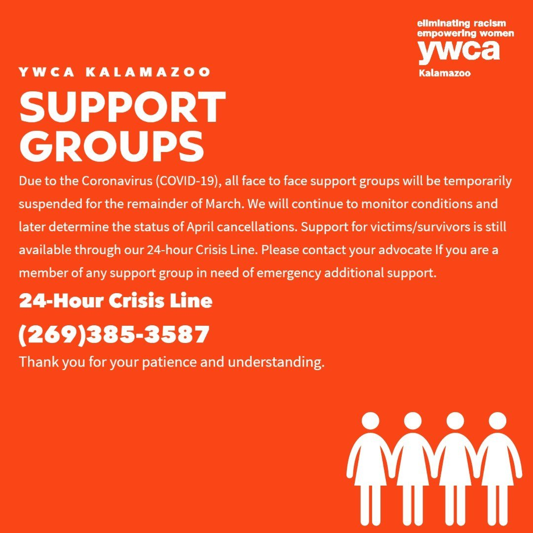 Support Groups Cancelled Covid-19